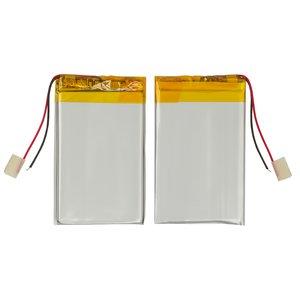Battery, (60 mm, 35 mm, 2.7 mm, Li-ion, 3.7 V, 650 mAh)