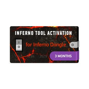 Inferno Tool 3 Months Activation for Inferno Dongle