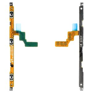 Flat Cable compatible with Samsung A205F/DS Galaxy A20, A305F/DS Galaxy A30, A405F/DS Galaxy A40, A505F/DS Galaxy A50, (start button, sound button)