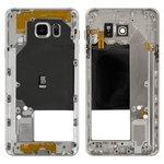Parte media de carcasa puede usarse con Samsung N9200Galaxy Note 5, gris
