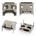 Коннектор зарядки для планшетов; мобильных телефонов, 5 pin, micro-USB тип-B, тип 4