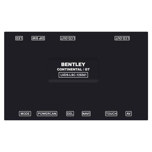 Видеоинтерфейс для Bentley Continental, Mulsane 2012-2015 г.в.