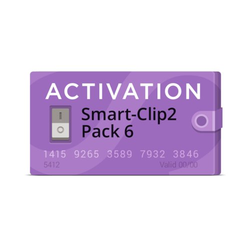 Активація Smart-Clip2 Pack 6