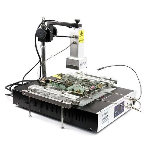 Паяльная станция инфракрасная AOYUE 732 полуавтоматическая с кварцевым излучателем