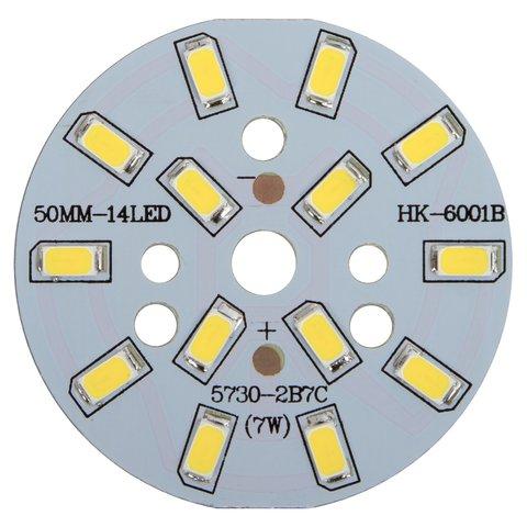 Плата зі світлодіодами 7 Вт холодний білий, 840 лм, 50 мм