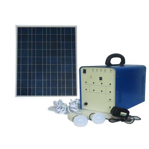 Портативна сонячна електростанція DC 100 Вт, 12 В 50 Аг, Poly 18 В 100 Вт