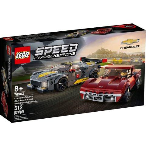 Конструктор LEGO Скоростные гонки Chevrolet Corvette 76903
