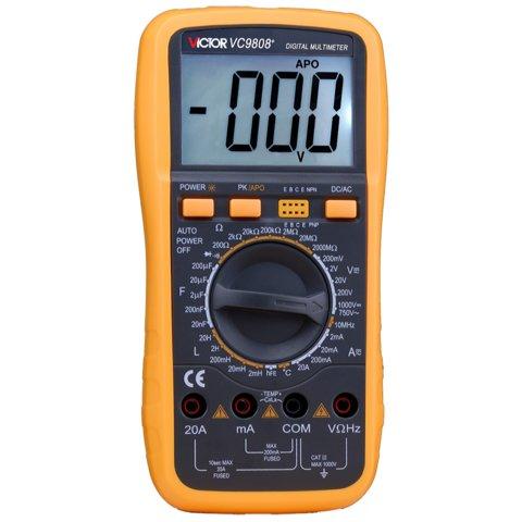 Digital Multimeter VICTOR VC9808+